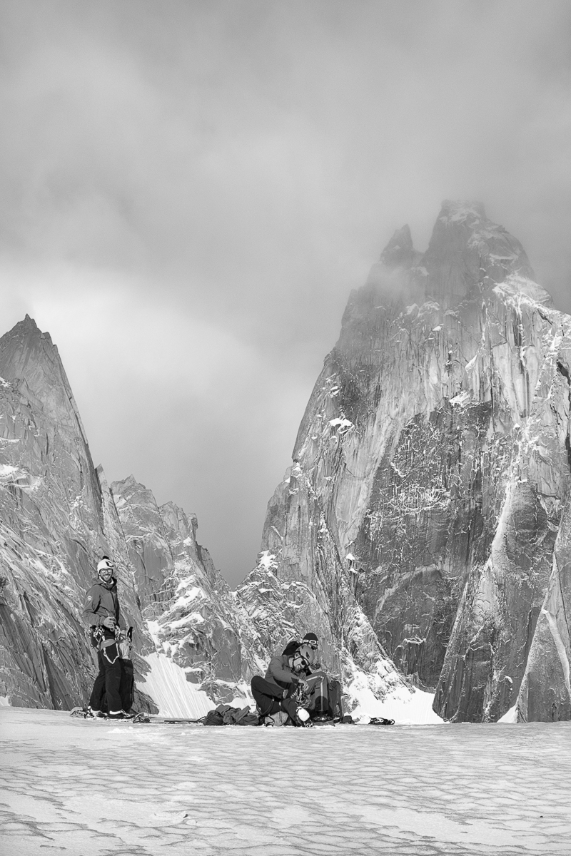 Glaciar Rio Blanco, Patagonia