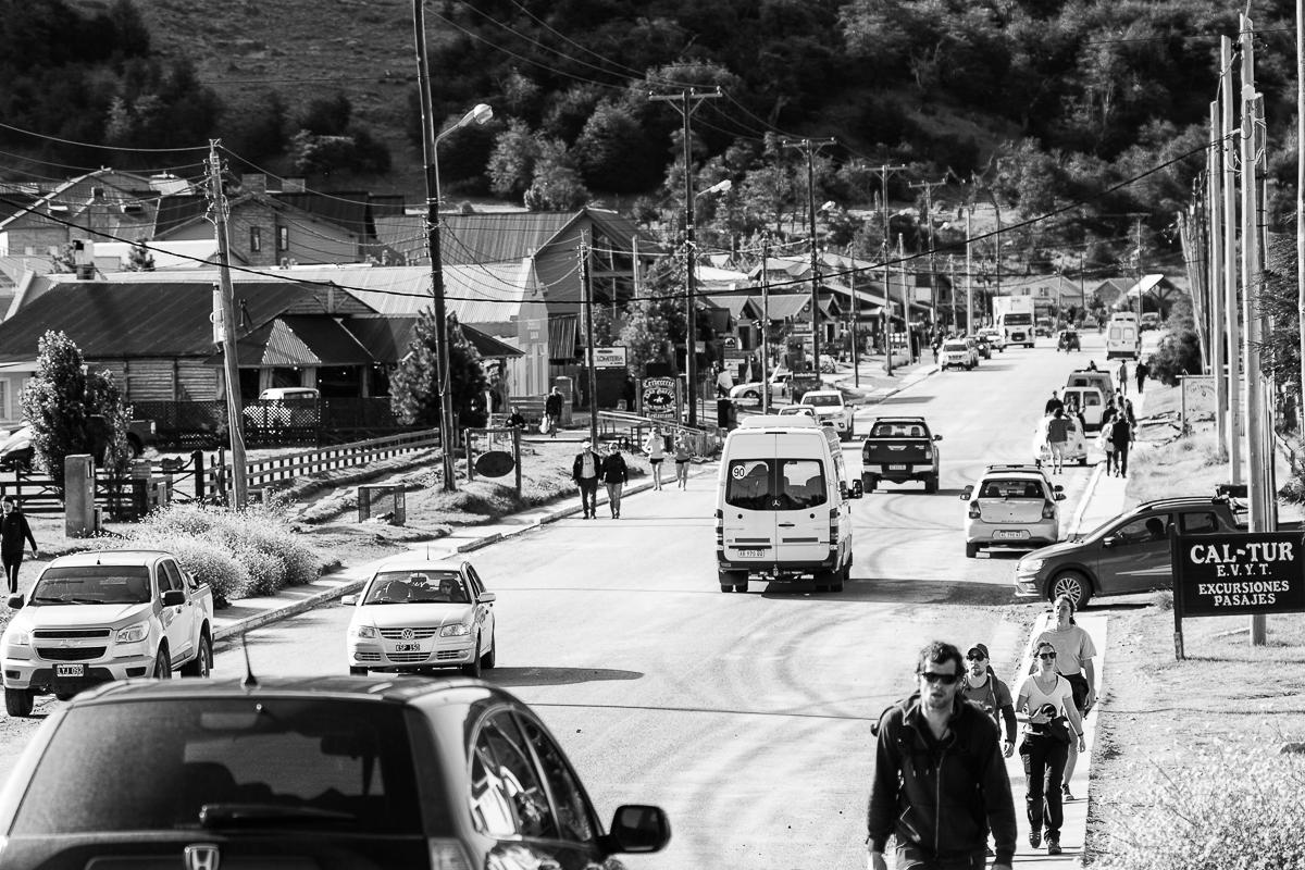 El Chalten main road