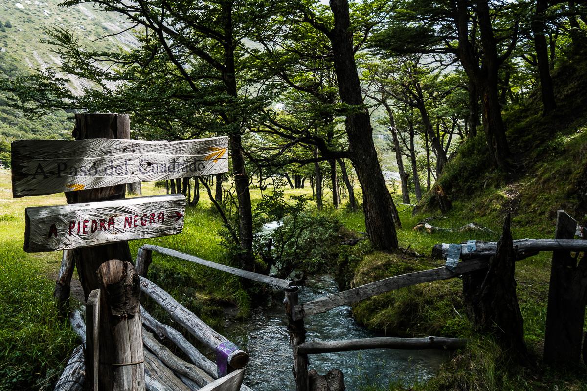 Piedra del Fraile, refugio, Patagonia.
