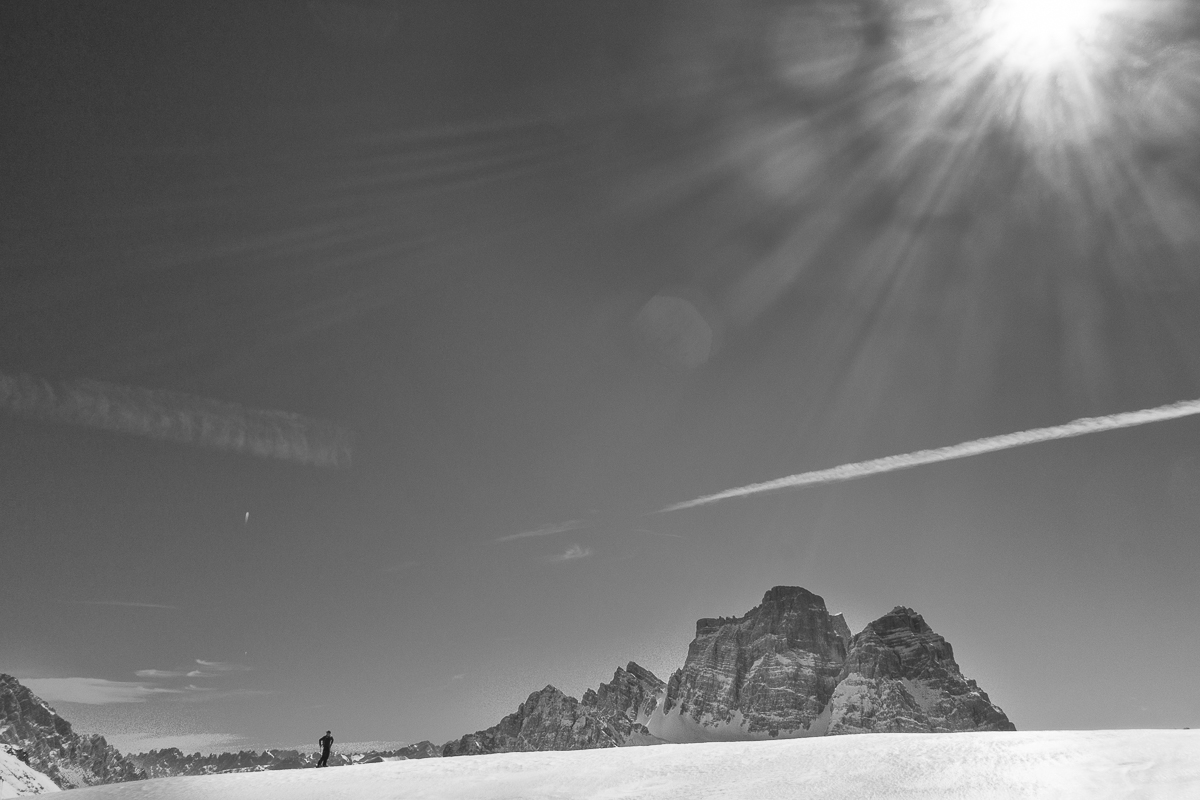 Mondeval, winter, Dolomites