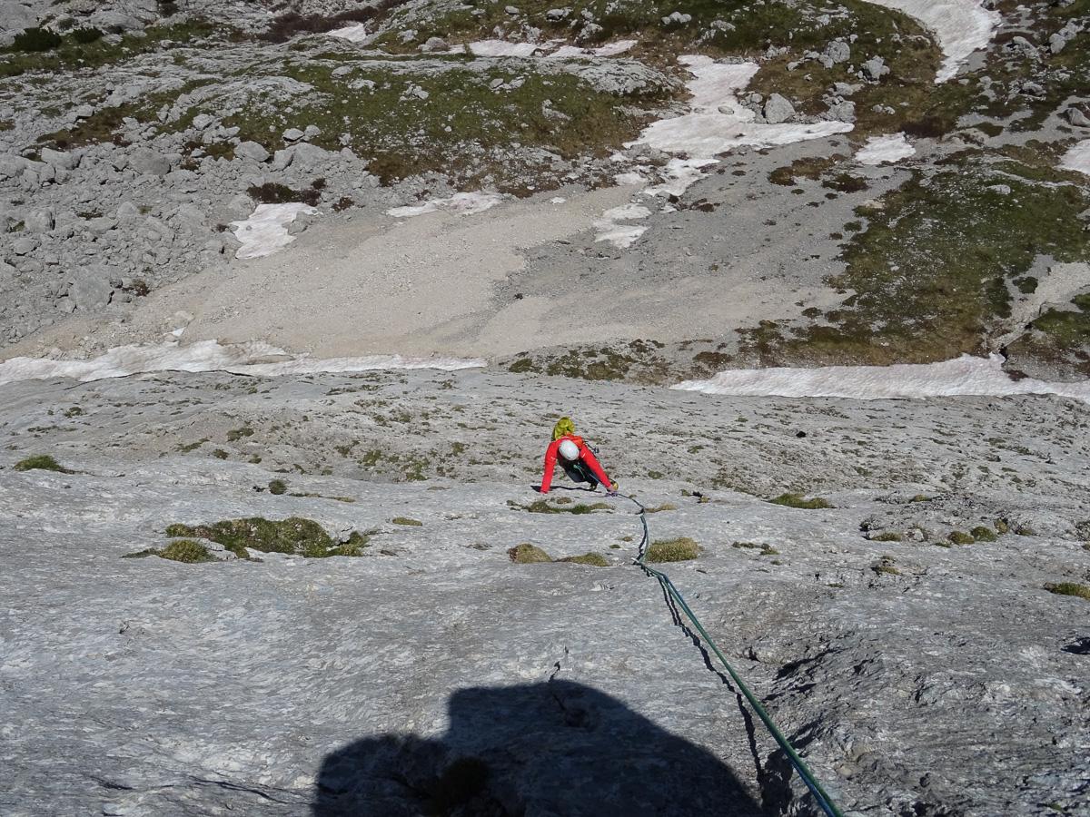 Alta infedeltà, Sasso delle Undici, Passo Fedaia, Dolomites.