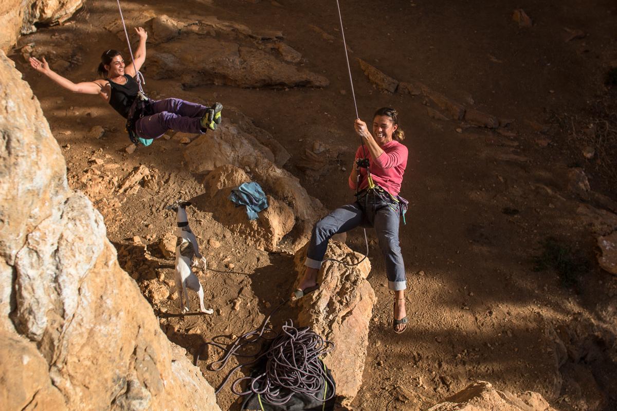 Climbing, Sardinia, Tana delle Tigri.