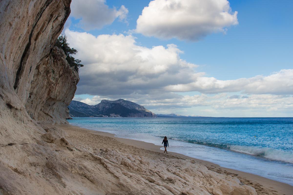 Sardinia, Cala Luna, Selvaggio Blu.