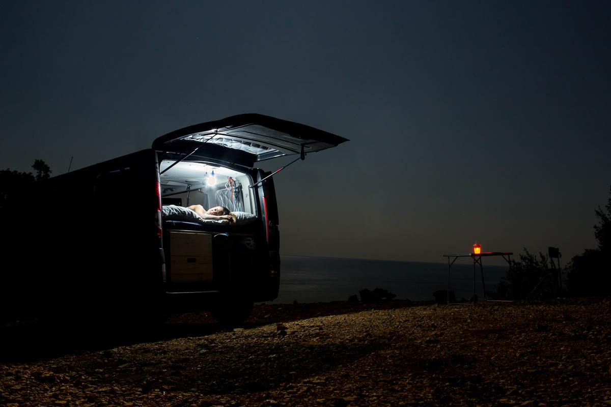 Sardinia, Van life.