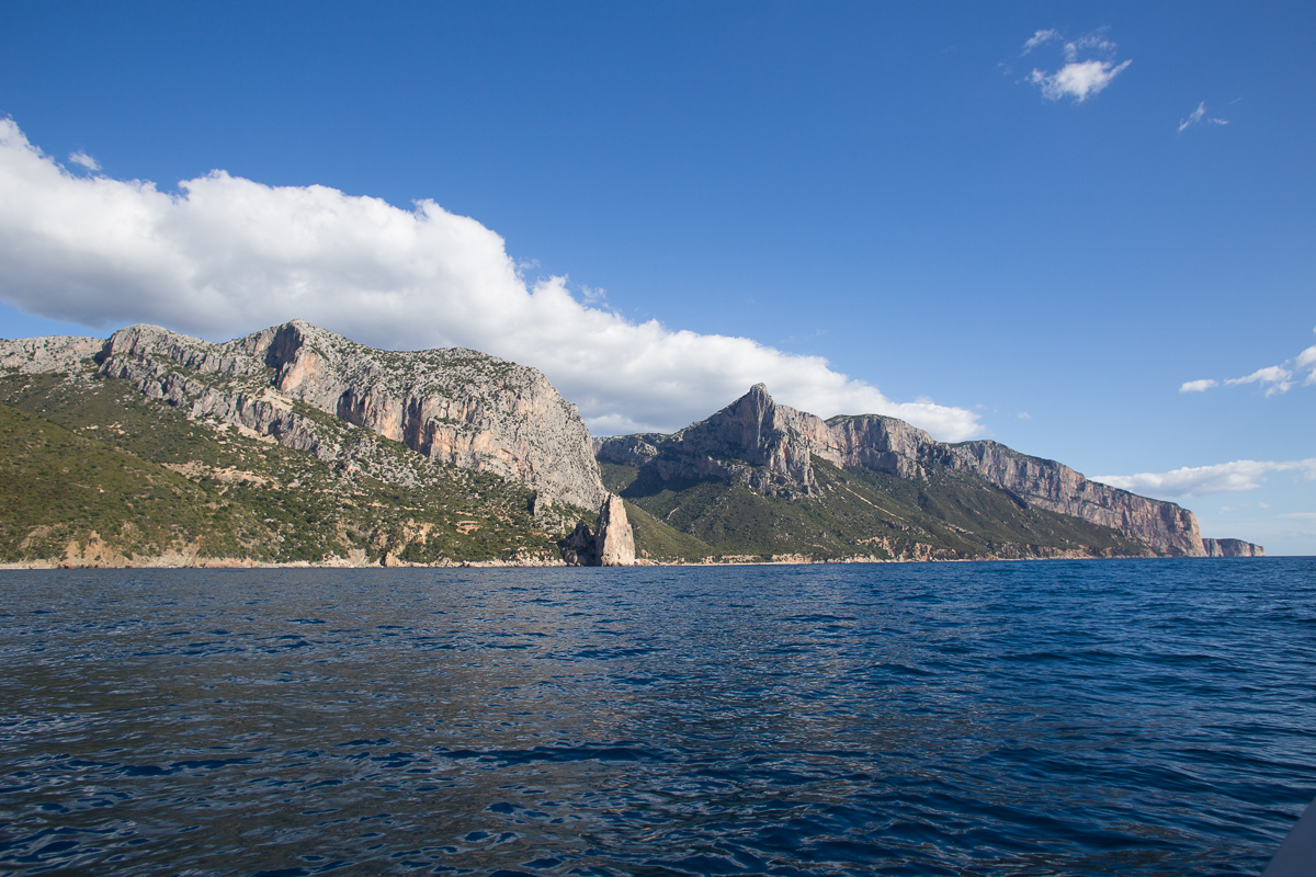 Selvaggio blu, cost, Santa Maria Navarrese